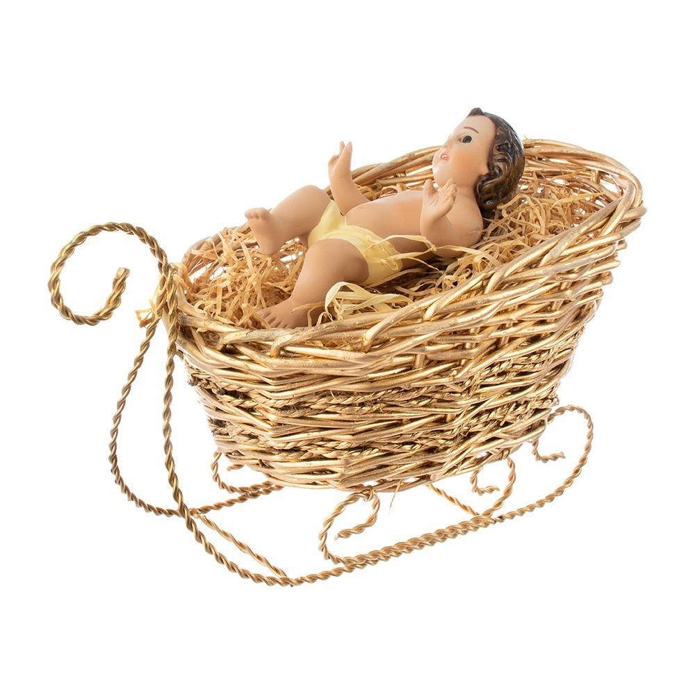 Culla Dorata per Gesù Bambino