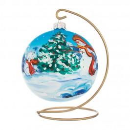 Palla Decorata per Albero di Natale