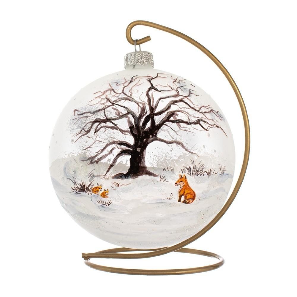 Palla Dipinta per Albero di Natale