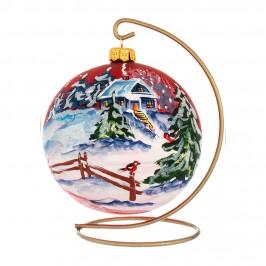 Palla in Vetro per Albero di Natale
