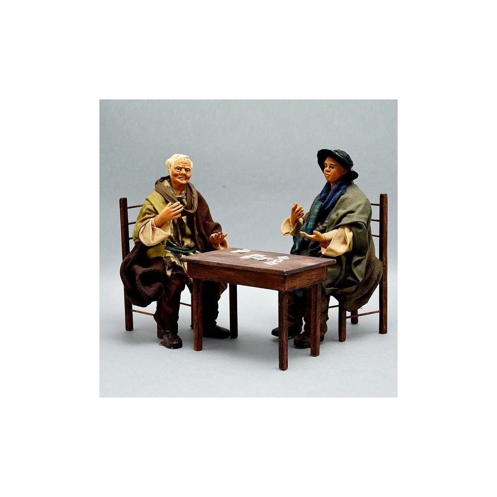 Anziani che Giocano a Carte