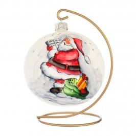 Palla Natalizia con Babbo Natale