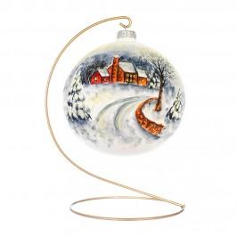 Palla Di Natale in Vetro Ø 15 CM