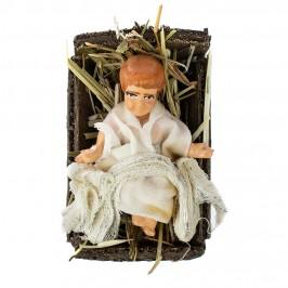Gesù Bambino in Terracotta 8 CM