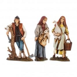 Gruppo Boscaiolo, Donna con Oca e Donna Con Coniglio Landi