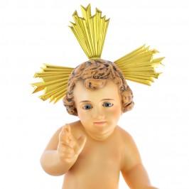 Gesù Bambino in Pasta di Legno