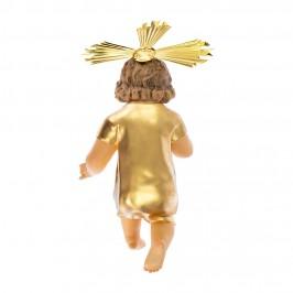 Statua Gesù Bambino Abito Dorato