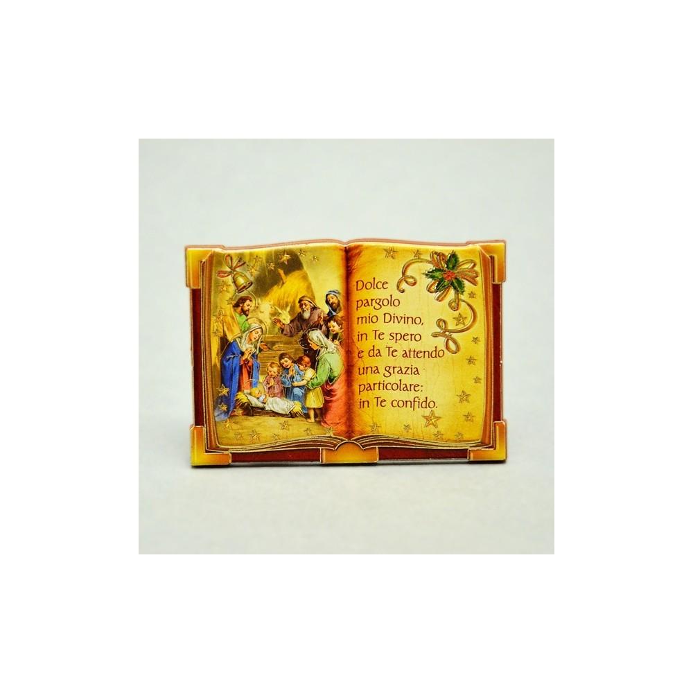 Natività Libro con Preghiera