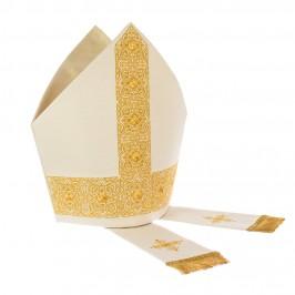 Casula e Mitria Oro con Applicazioni