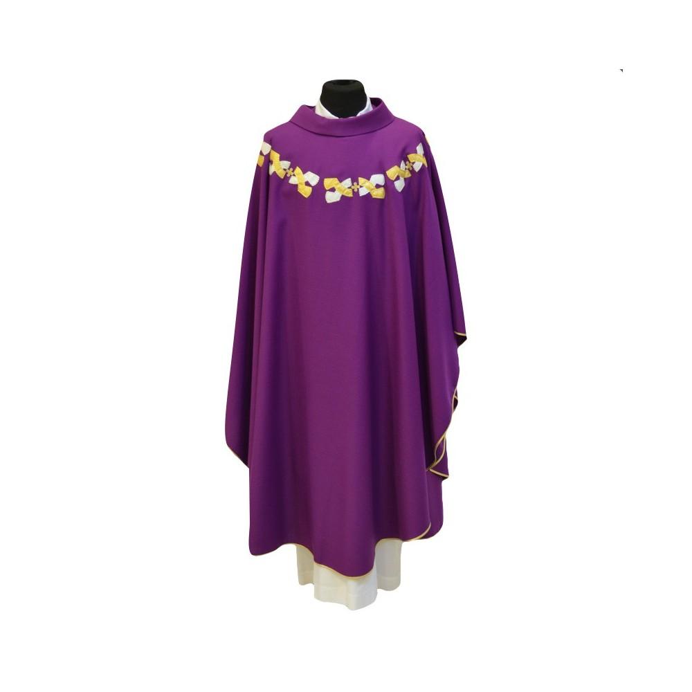 Casula per Sacerdote in Misto Lana