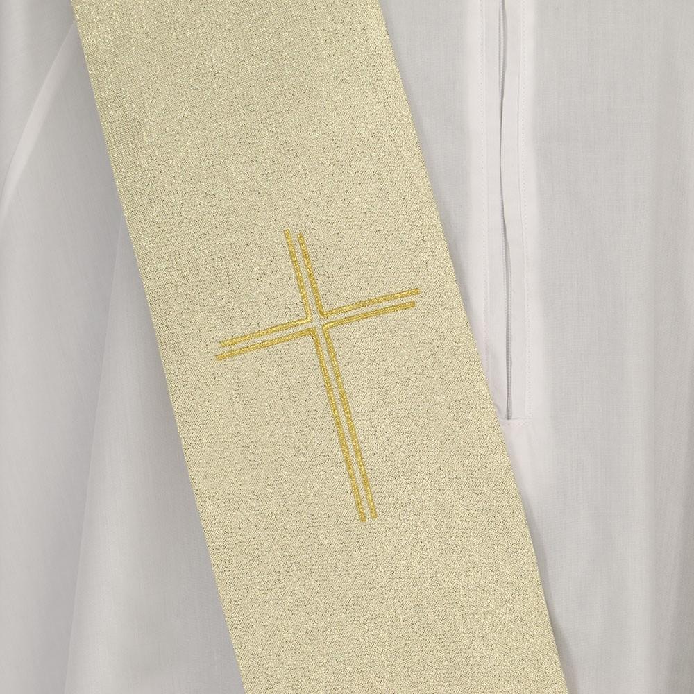 Casula per Sacerdote Ricamo Croce