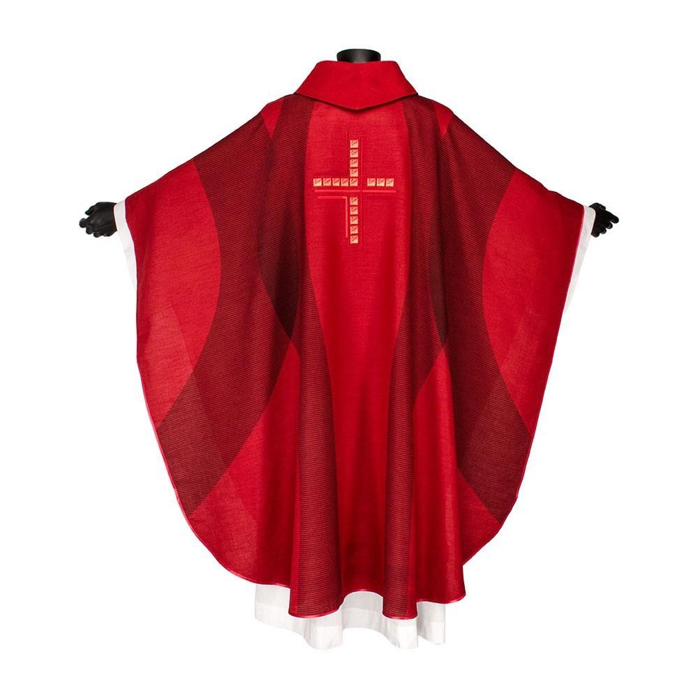 Casula Liturgica con Ricamo Croce