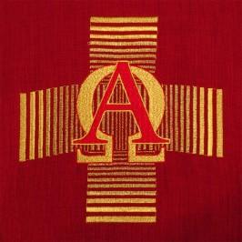 Casula Croce Alfa e Omega