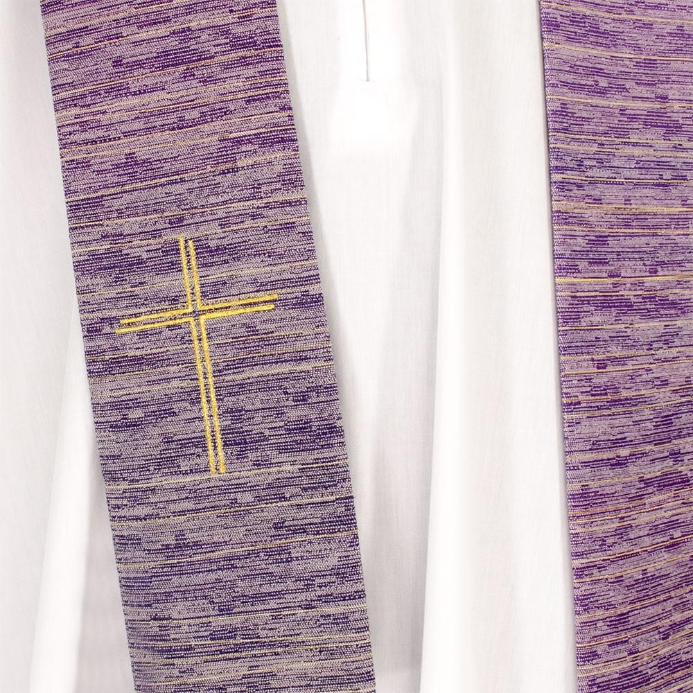 Casula con Ricamo Tre Croci e Pietre