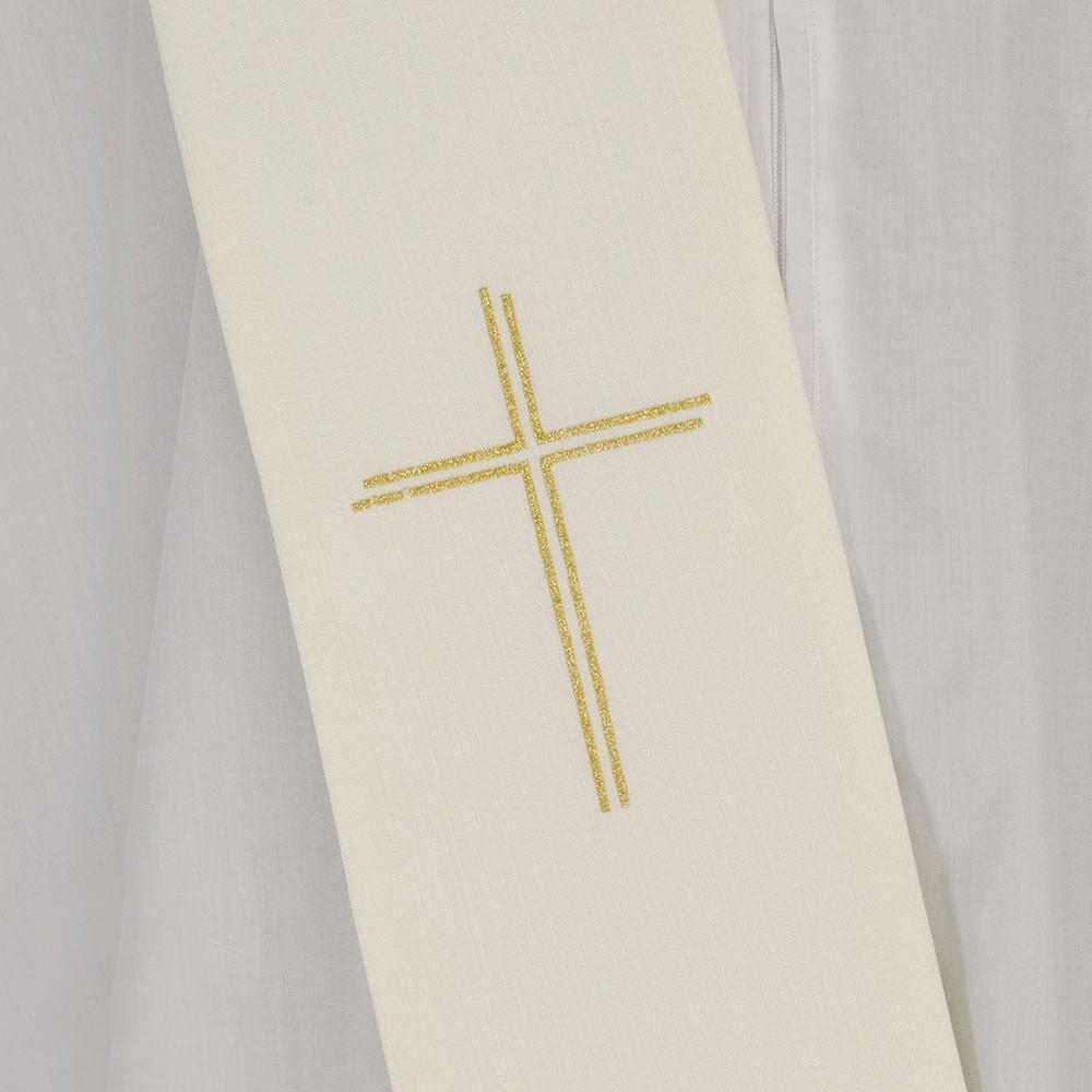 Casula con Croce Grande Ricamata