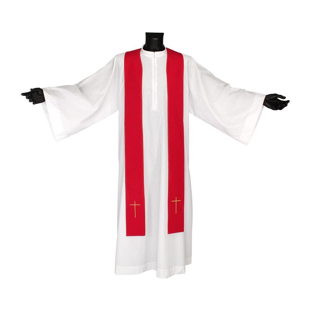 Casula Liturgica Croce Ricamata
