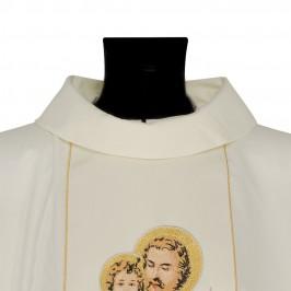Casula Ricamo San Giuseppe con Giglio