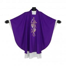 Casula per Sacerdote Ricamata
