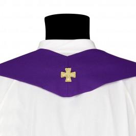 Casula con Ricamo Croce Stilizzata