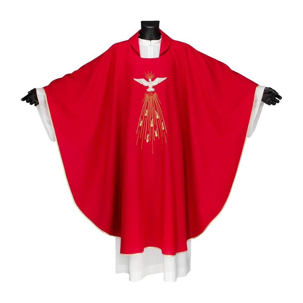 Casula Rossa Spirito Santo