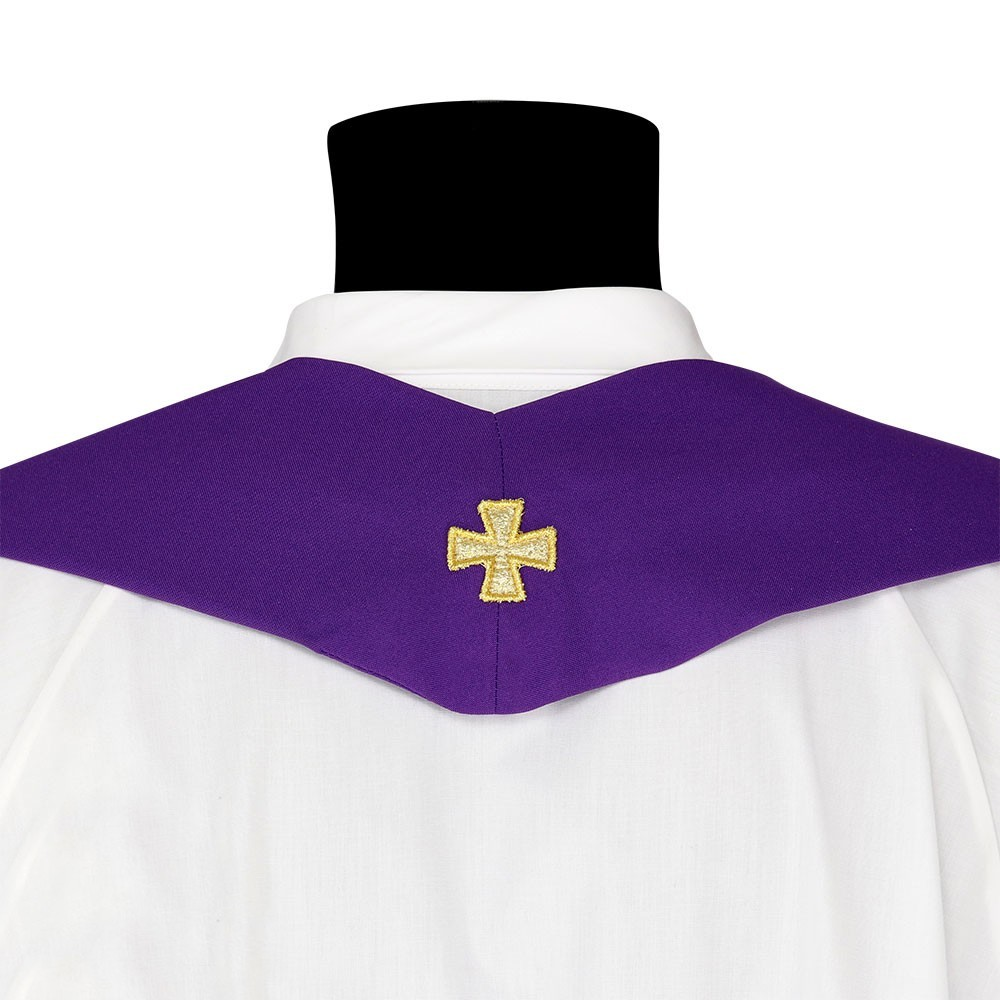 Casula in Poliestere con Ricamo Croce