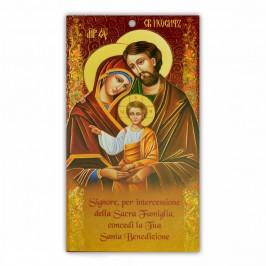 Cartoncino Benedizione Famiglia