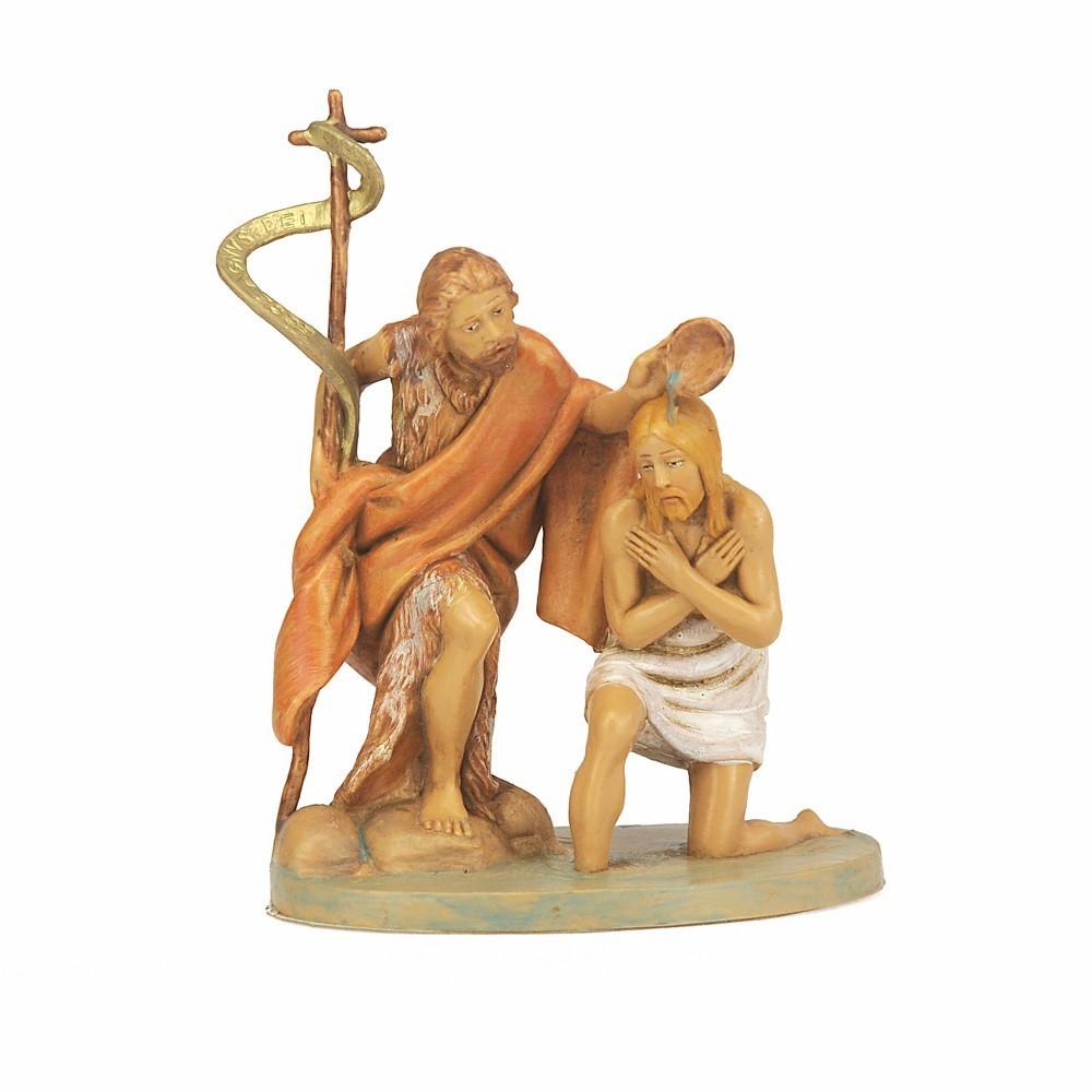 Battesimo Gesù Fontanini 12 cm