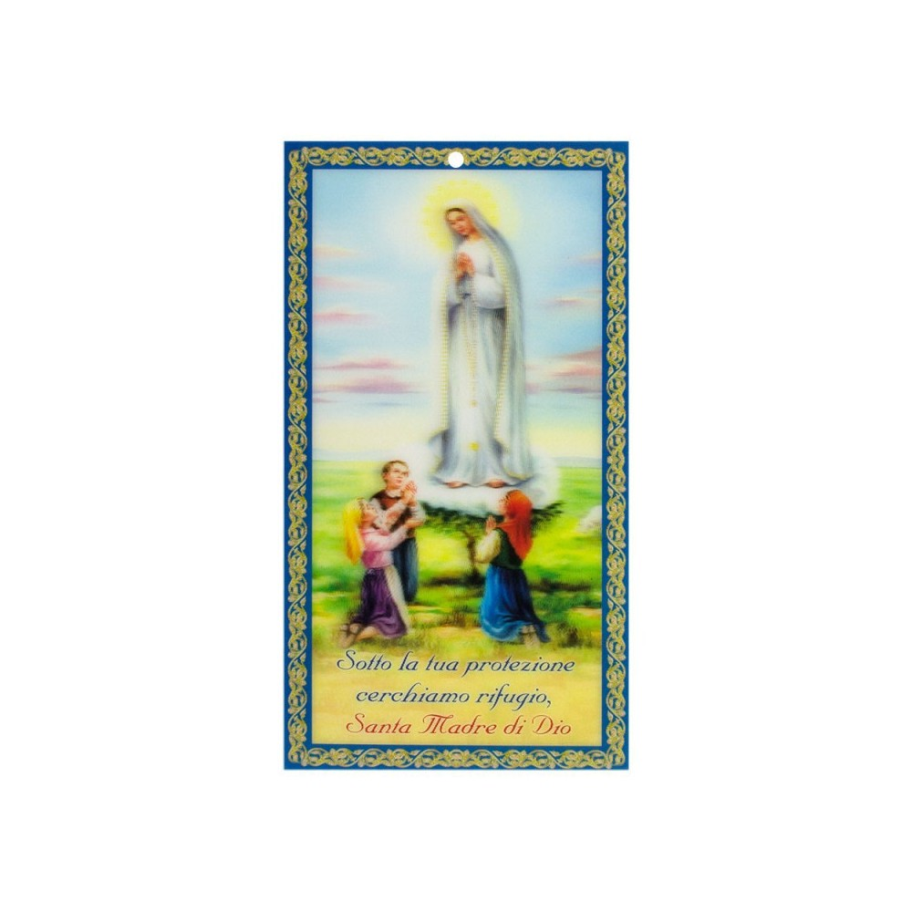 Benedizione Famiglia in 3D Mad Fatima