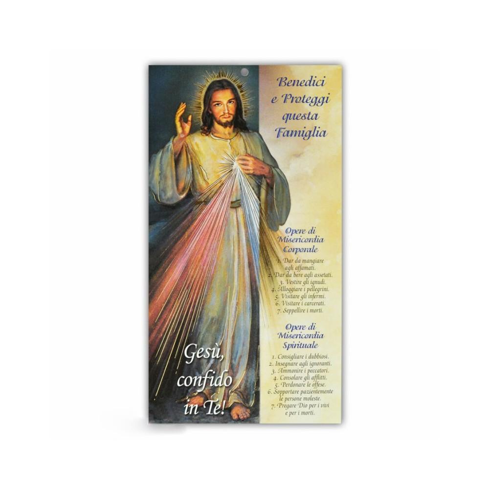 Benedizione Famiglia Gesù Misericordioso