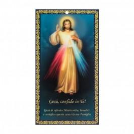 Benedizione Famiglia 3D Gesù Misericordioso