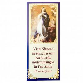 Cartoncini Benedizione  Famiglie