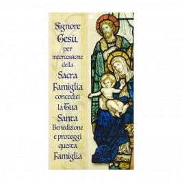 Benedizione Famiglia Sacra Famiglia Gotica
