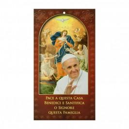 Benedizione Famiglia Papa Francesco e Maria dei Nodi