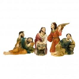 Set 3 Figure Della Passione con Angelo