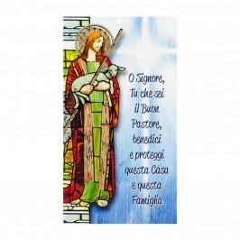 Cartoncino Benedizione Gesù Buon Pastore