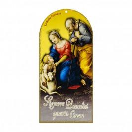 Cartoncino Ricordo Benedizione Sacra Famiglia