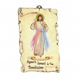 Cartoncino Benedizione Gesù Misericordioso