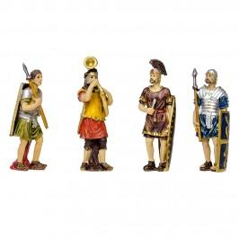 Set 4 Soldati Figure Di Passione