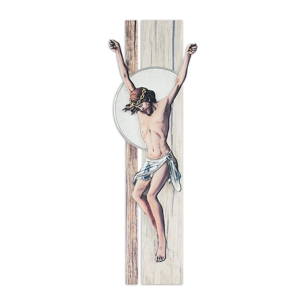 Crocifisso Moderno con Sagoma di Cristo