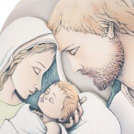 Quadro Tondo da Parete Sacra Famiglia
