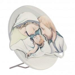 Quadretto Sacra Famiglia Tondo