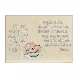 Quadro con Preghiera Angelo di Dio