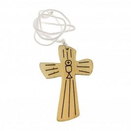 Croce in Legno per Tunichetta Prima Comunione