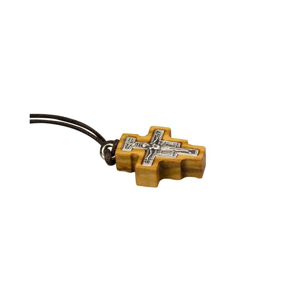 Croce San Damiano Legno e Metallo