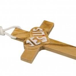 Croce in Legno con Scritta Jesus