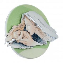 Quadro Tondo Madonna con Bambino