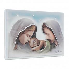 Quadretto Sacra Famiglia con Strass