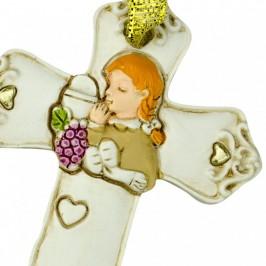 Croce in Resina per Comunione Bimba