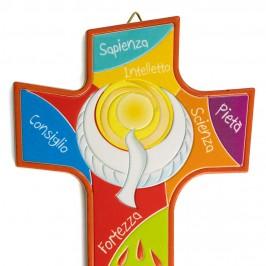 Croce Colorata per Cresima