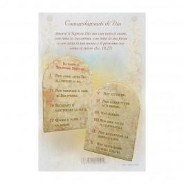 Pergamena i Dieci Comandamenti di Dio